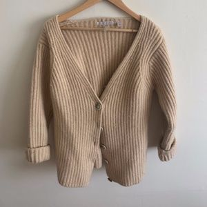 Thick Cashmere Cardigan